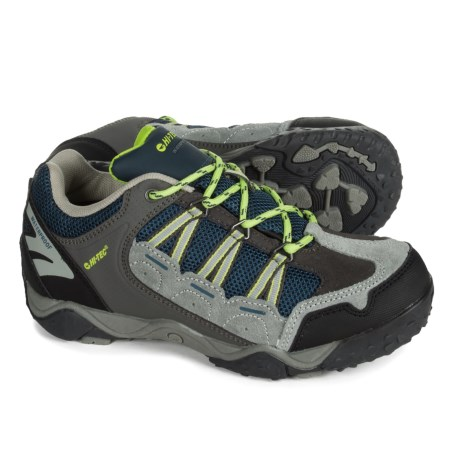 Hi-Tec Forza Low Hiking Shoes - Waterproof (For Big Kids)