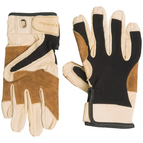 Metolius Grip Leather Gloves - Full Finger (For Men and Women)