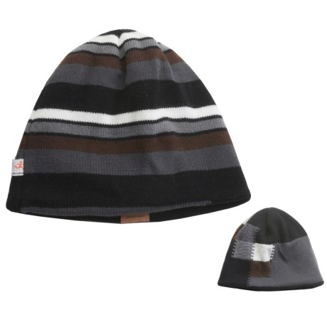Shred Alert Post Canyon Beanie Hat - Reversible (For Men and Women)