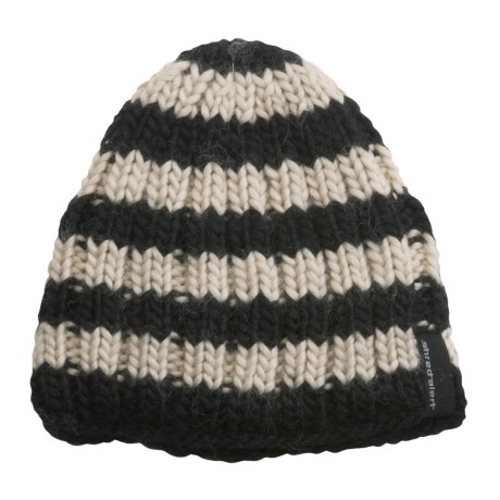 Shred Alert Snowden Beanie Hat - Wool-Rich (For Men and Women)