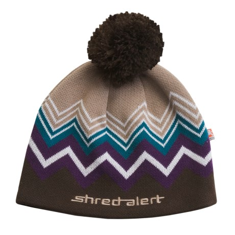 Shred Alert Dark Meadow Beanie Hat - Fleece-Lined (For Men and Women)