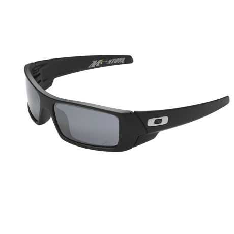 Oakley Gascan Juan Pablo Montoya Signature Sunglasses with Iridium Lenses