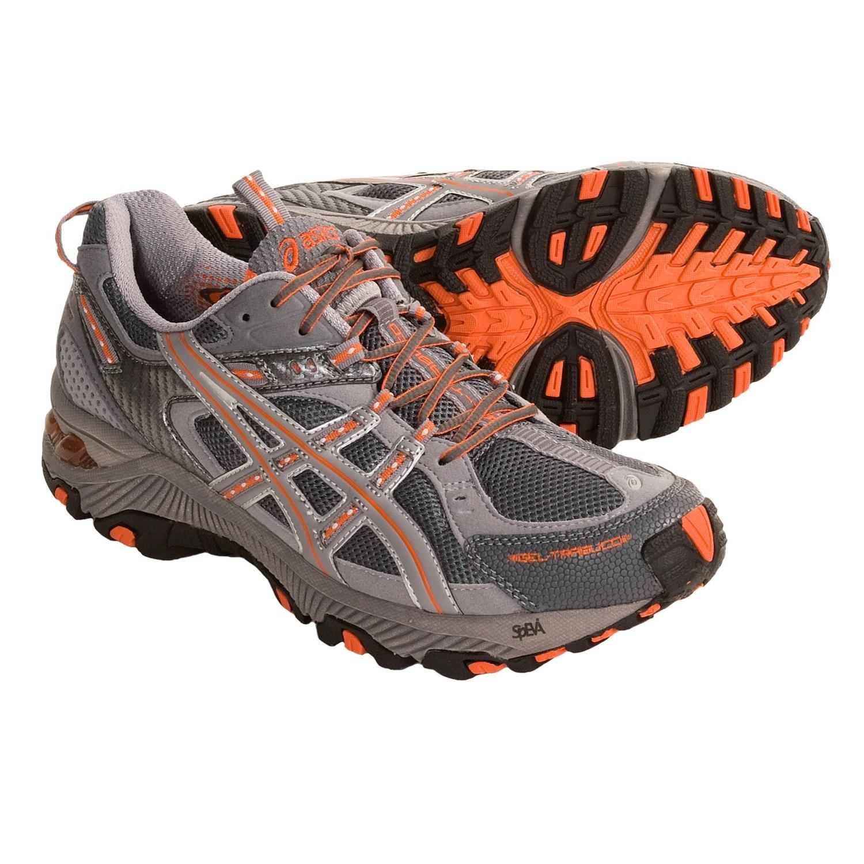 asics trabuco trail running shoes