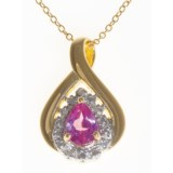 Prime Art Wishbone Pendant Necklace - Chain