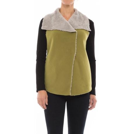 dylan Fleece Mock Vest (For Women)