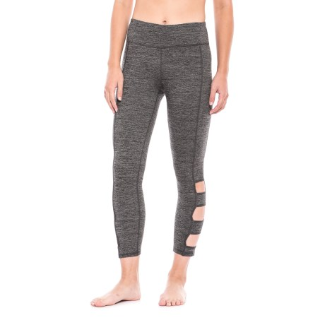 Gaiam Om Willa Wide Strap Capris (For Women)