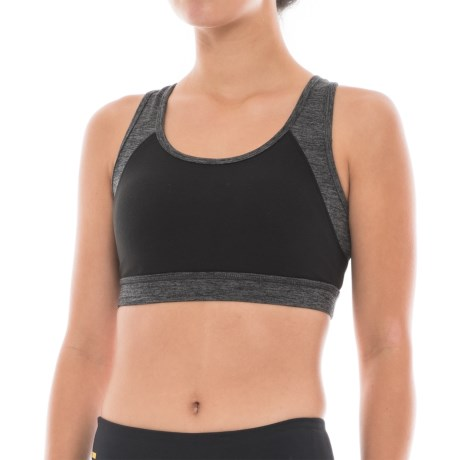Gaiam Willa Sports Bra - Medium Impact, Removable Cups (For Women)