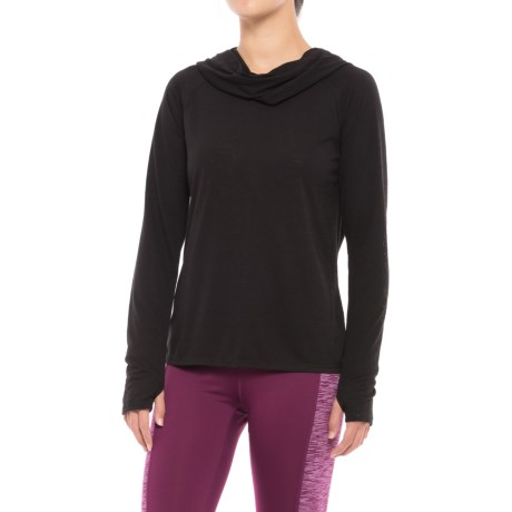 Gaiam Emery Shirt - Cowl Neck, Long Sleeve (For Women)