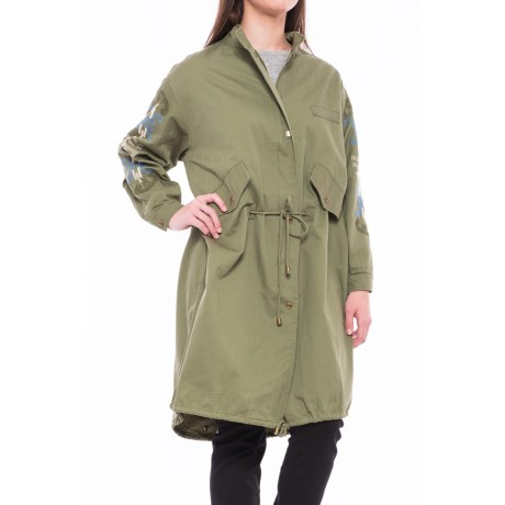 NANETTE Nanette Lepore Army Embroidered Jacket (For Women)
