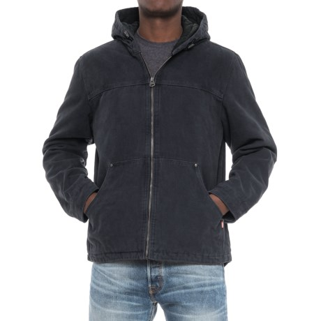 Levi's Levi's Heavy Cotton Canvas Jacket - Insulated Hood (For Men)
