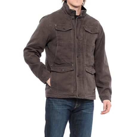 G.H. Bass & Co. Cotton Canvas Field Jacket - Insulated (For Men)
