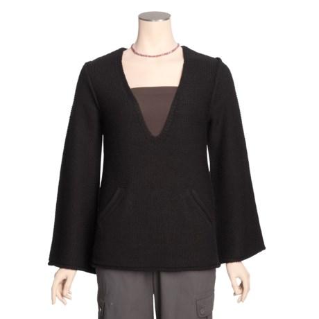 Avalin Deep V-Neck Sweater - Long Sleeve (For Women)