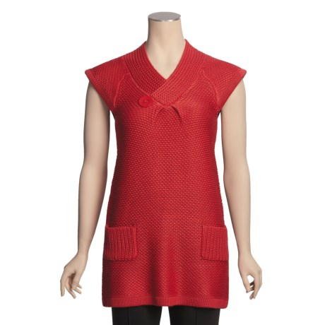 Avalin Tunic Sweater - Short Sleeve (For Women)