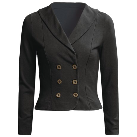Blue Canoe Double-Breasted Jacket - Shawl Collar (For Women)