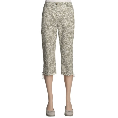 Madison Hill Crop Pants - Stretch Cotton (For Women)