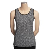 Madison Hill Knit Tank Top - Stretch Cotton (For Women)