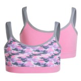 RBX Double-Strap Sports Bralette - 2-Pack (For Big Girls)