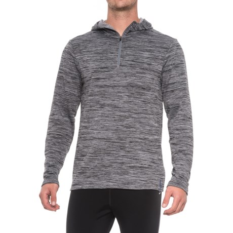 RBX Striated Hoodie Shirt - Zip Neck, Long Sleeve (For Men)