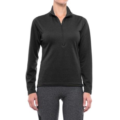 PolarFleece Polartec® Power Grid® Base Layer Top - Zip Neck, Long Sleeve (For Women)