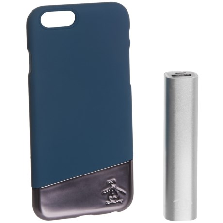 Penguin Slide iPhone® 6/6s Case + Power Bank - 2500 mAh