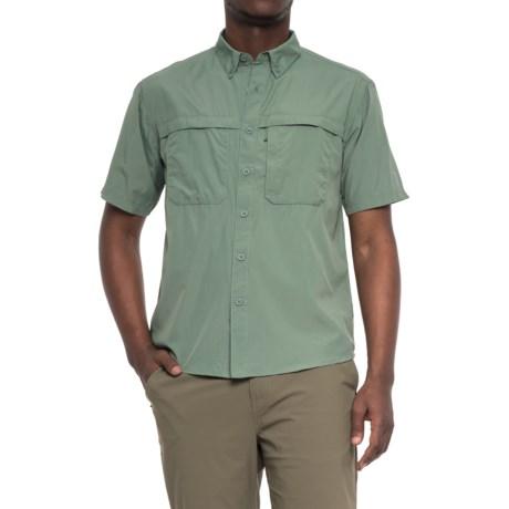 White Sierra Yellowstone Shirt - UPF 30, Short Sleeve (For Men)