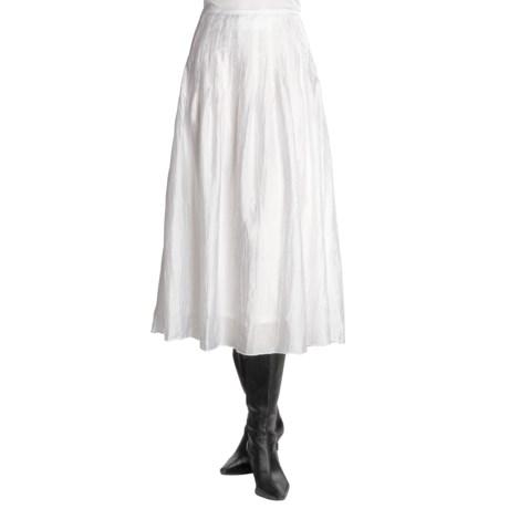 Madison Hill Crushed Skirt - TENCEL® (For Women)