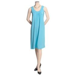 Madison Hill Luxe Knit Dress - Round Neck, Sleeveless (For Women)