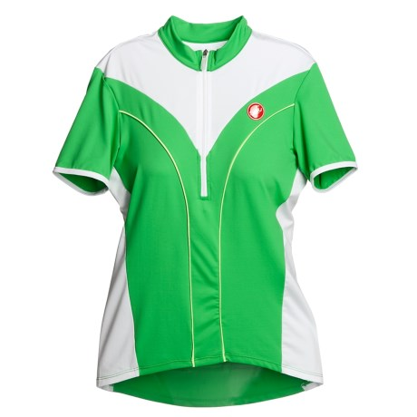 Castelli Brillante Cycling Jersey - Short Sleeve (For Women)