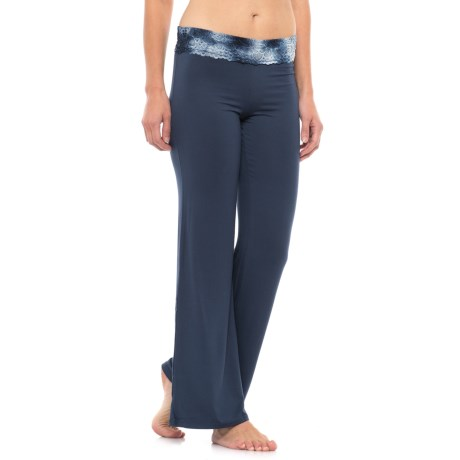 C & C California Lace-Trim Lounge Pants (For Women)