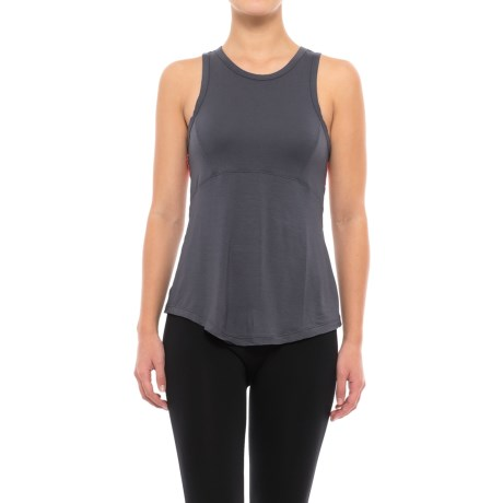 C&C California Contrast Back Lounge Tank Top (For Women)