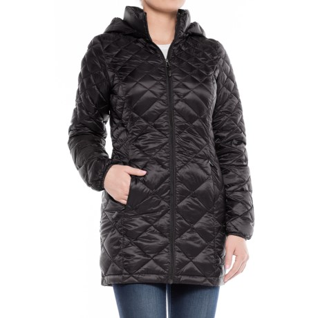 32 Degrees Diamond Quilted Down Coat - 650 Fill Power (For Women)
