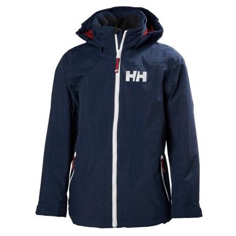 Helly Hansen Jr. Rigging Rain Jacket - Waterproof (For Big Kids)