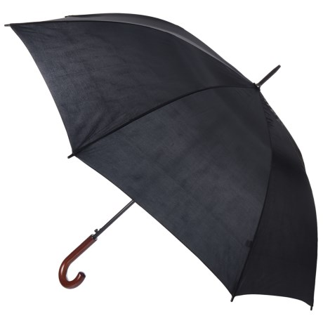 Kenlo Auto-Open Doorman Stick Umbrella - 50""