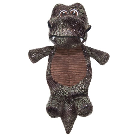 Best Pet Crocosaur Plush Mat Dog Toy - Squeaker