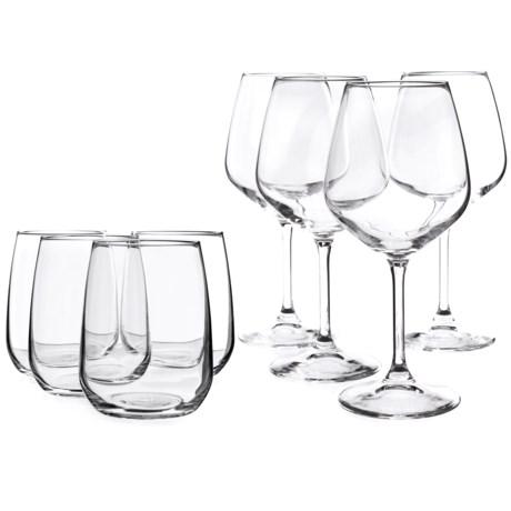 Bormioli Rocco Restaurant Stemware Glass Set - 8-Piece