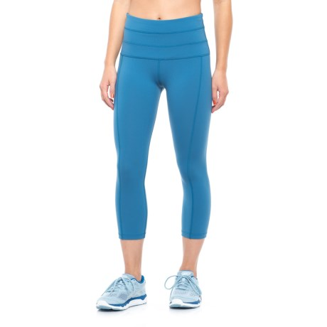 Lorna Jane Ash Core Stability Capris (For Women)