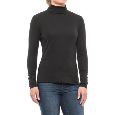 Cynthia Rowley Core Turtleneck - Pima Cotton-Modal, Long Sleeve (For Women)