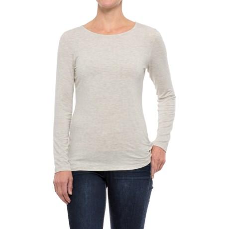 Kenar Stretch Modal Shirt - Long Sleeve (For Women)