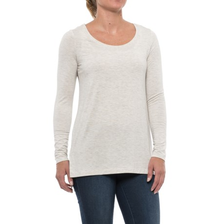 Mercer & Madison High-Low Shirt - Stretch Modal, Long Sleeve (For Women)