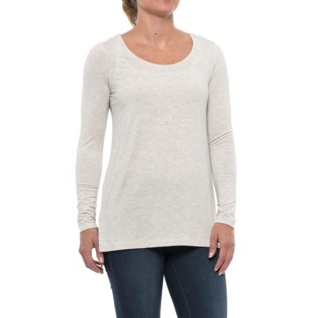Mercer & Madison High-Low Shirt - Stretch Modal, Long Sleeve (For Women)