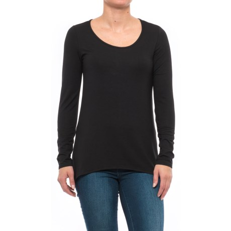 Kenar Scoop Neck Shirt - Stretch Modal, Long Sleeve (For Women)