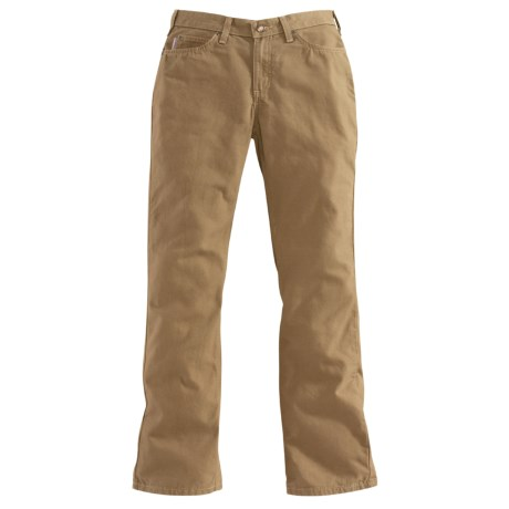 Carhartt Traditional Fit Canvas Jeans - Bootcut (For Women)