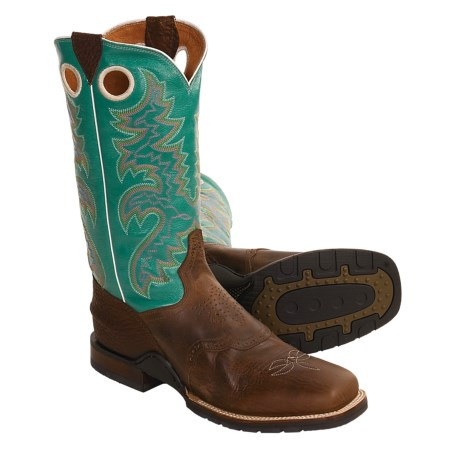 Dan Post Stockman Cowboy Boots - Leather, Square Toe (For Men)