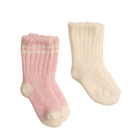 b.ella Stimolo Lambswool Blend Booties - 2-Pack (For Infants)