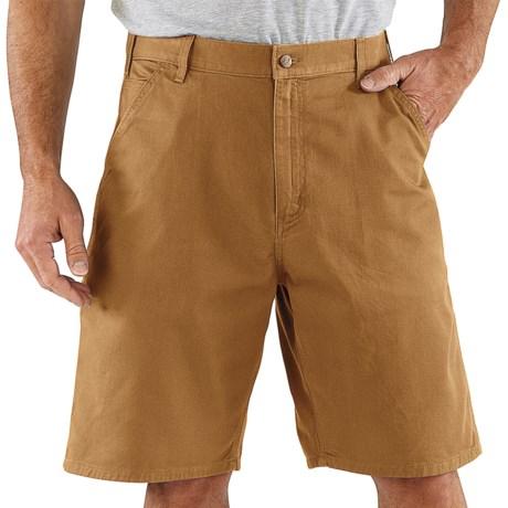 Carhartt Work Shorts - Cotton Twill (For Men)