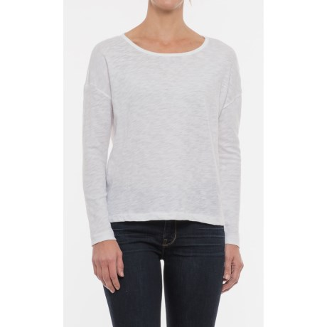Maison Cinqcent Boxy Drop Shoulder Shirt - Long Sleeve (For Women)