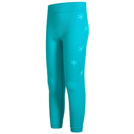Spyder Boxed Crest Base Layer Pants (For Girls)