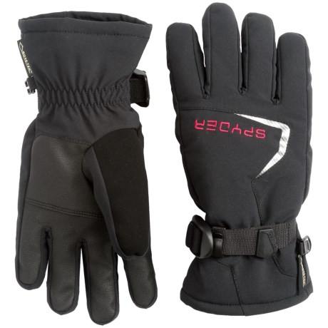 Spyder Traverse Gore-Tex® Ski Gloves - Waterproof, Insulated (For Boys)