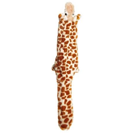 Aussie Naturals Floppie Giraffe Dog Toy - Squeaker