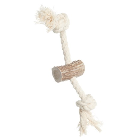 Paws & Co. Rope Antler Dog Toy - 6""